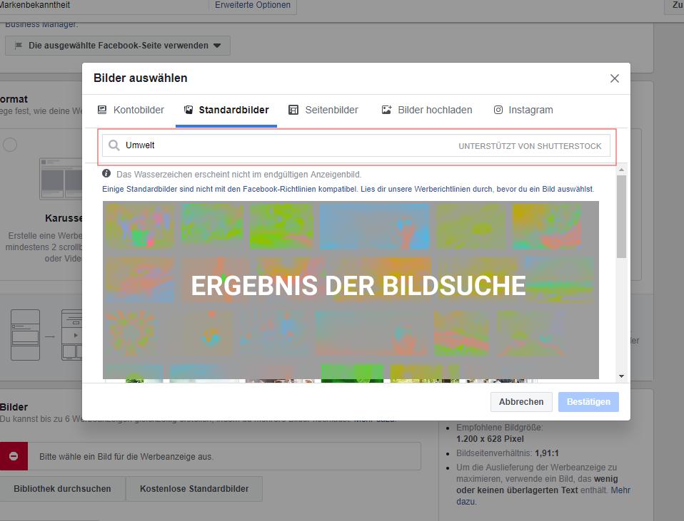 Werbeanzeigen auf Facebook mit professionellen Bildern - Customer Inn GmbH