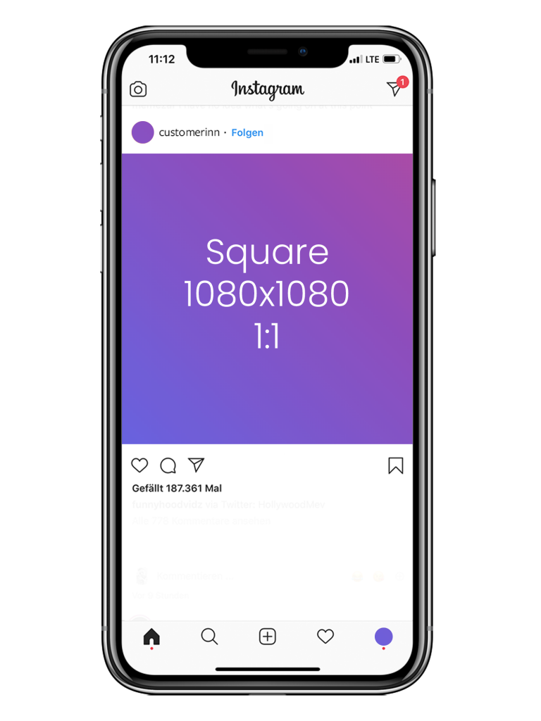Customer Inn: Instagram - Square Format